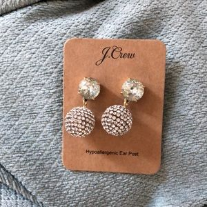 J crew earrings worn once to party super fun!